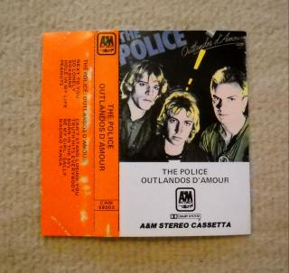 The Police - Sting - obal na MC - Itálie 1980